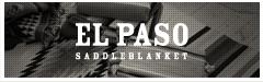 El Paso Saddle Blanket エルパソ サドルブランケット